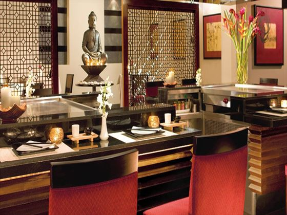 Himitsu Pan-Asian restaurant at Secrets St James