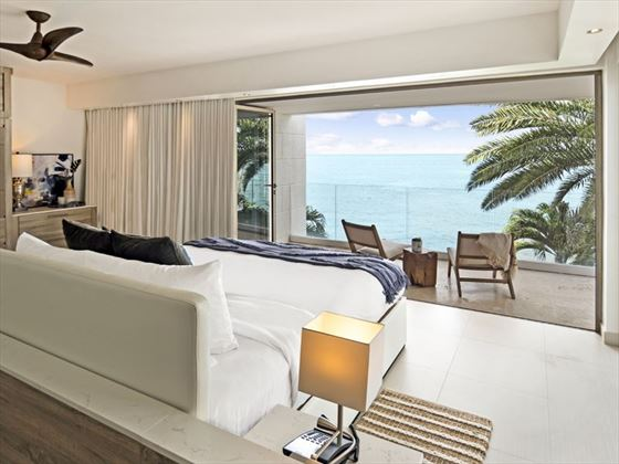 Oceanfront Four Bedroom Villa at Hodges Bay Resort & Spa