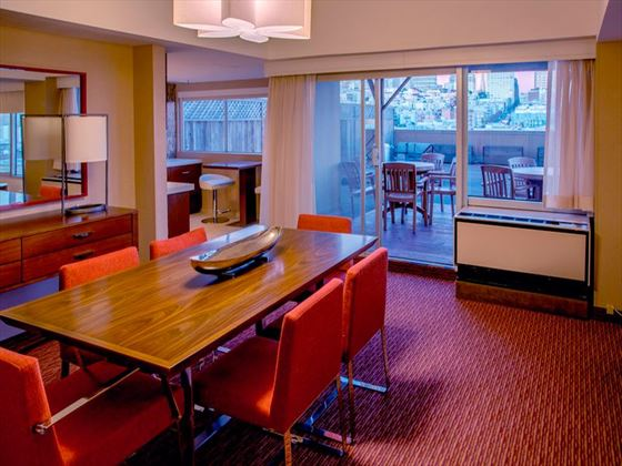 Patio Suite at Holiday Inn Golden Gateway