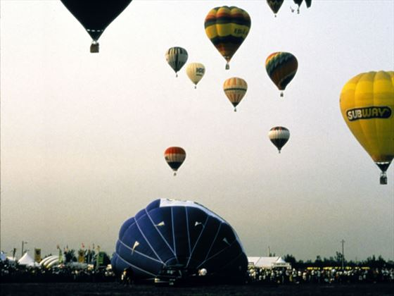 Hot Air Balloon Festival, Mnteregie, Quebec