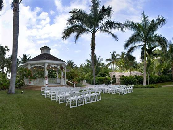 West Lawn Wedding Gazebo