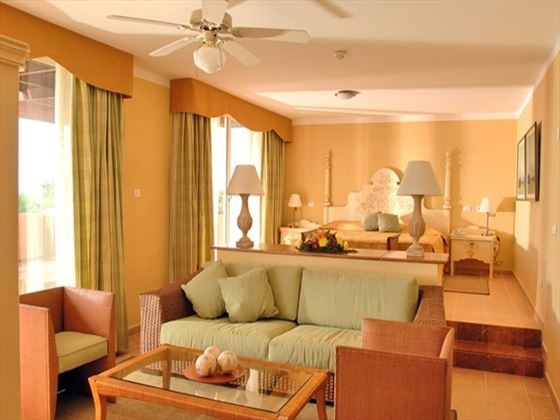 Iberostar Varadero in-suite living room