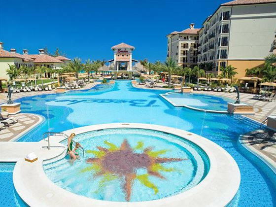 Italian Village pool at Beaches Turks and Caicos