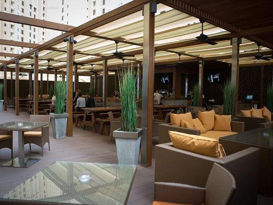 JA Ocean View Hotel Girders Garden