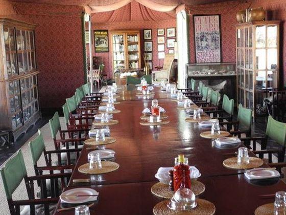 Jack's Camp dining area