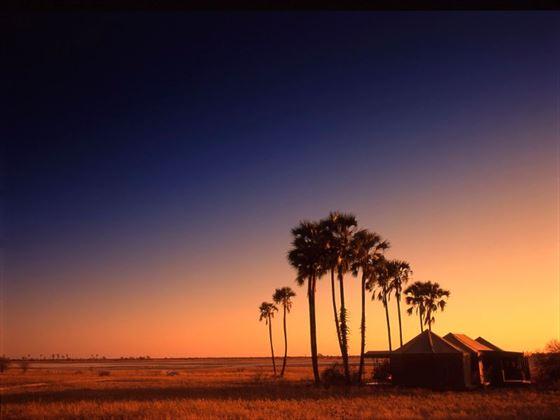Beautiful scenery at Jack's Camp