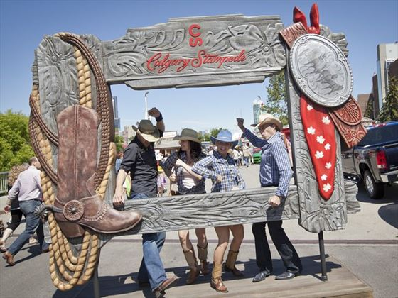 Join the Calgary Stampede in Alberta