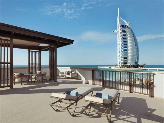 Jumeirah Al Naseem - Ocean Suite balcony