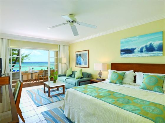 Junior Suite Ocean View at Turtle Beach by Elegant Hotels