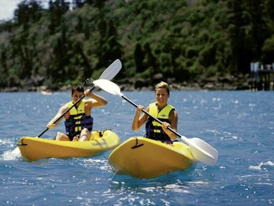 Kayaking at Daydream Island Resort & Spa