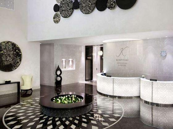 Kempinski Residence & Suite Doha lobby