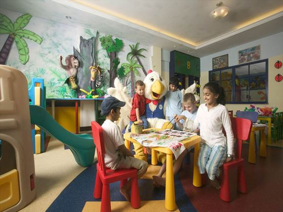 Kids activity club at Meritus Pelangi Beach Resort & Spa