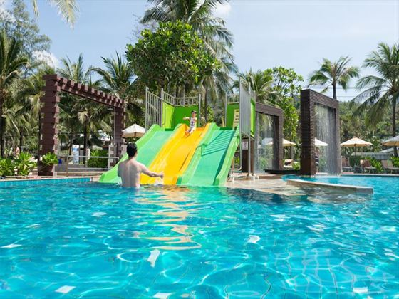 Water Slide, Family Pool, Katathani Beach Resort