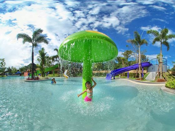 Kids waterpark area at Holiday Inn Resort, Krabi
