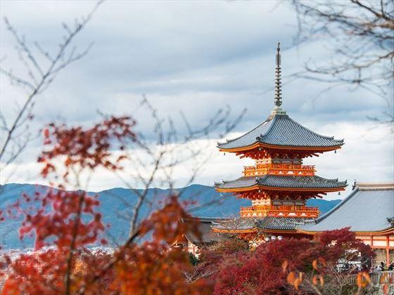 Kiyomizu der Pagoda, Kyoto