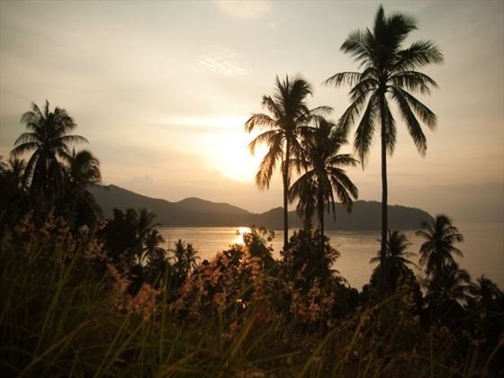 Sunset views over Koh Phangan