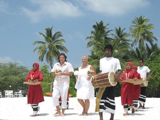 Traditional Maldive Renewal of Vows