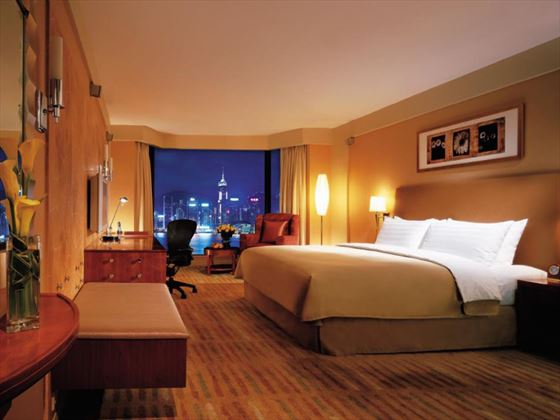 Kowloon Shangri-La Horizon Harbour View Room