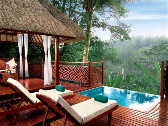 Kupu Kupu Barong Villas & Tree Spa Ayung River Pool Villa