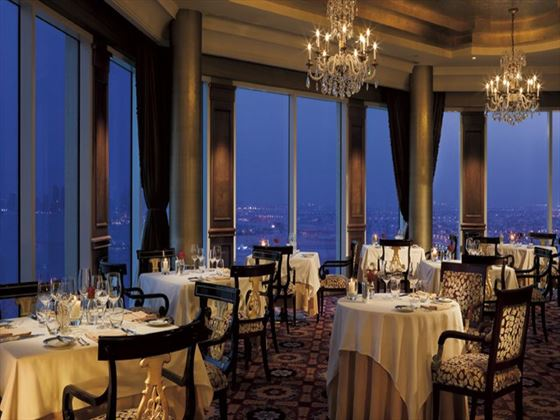 La Mer restaurant at Ritz Carlton
