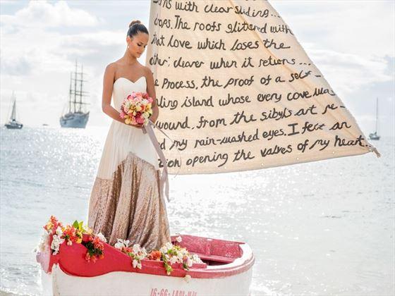 Bride at The Landings
