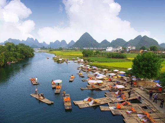 Landscape of Guilin, Yangshuo