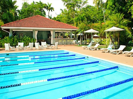 Lap pool at Couples Swept Away