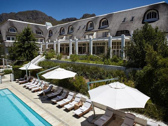 Le Franschoek Hotel pool