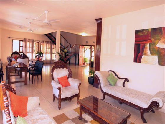 Le Palmiste lobby area