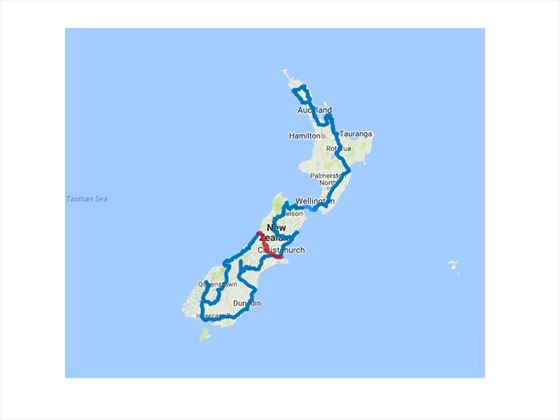 Length and Breadth of New Zealand Self-Drive