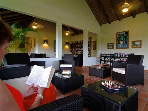 Library at Galley Bay Resort & Spa