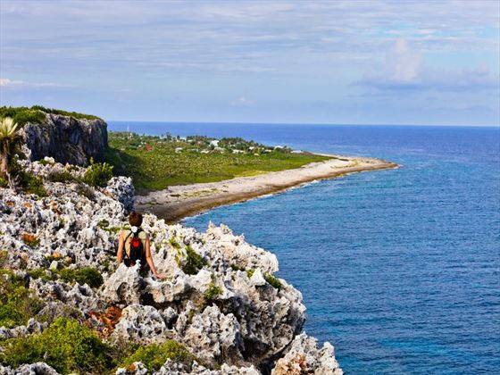 Lighthouse footpath, Cayman Brac