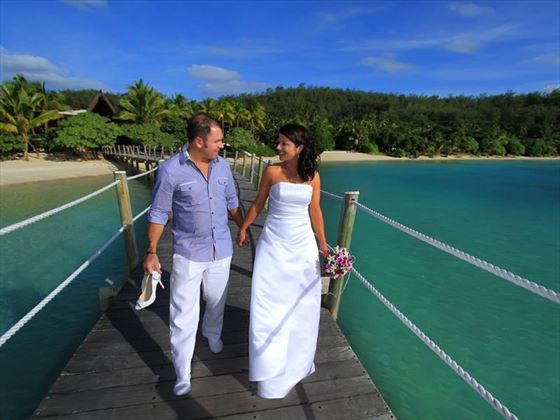 Bride & Groom, Likuliku Lagoon Resort
