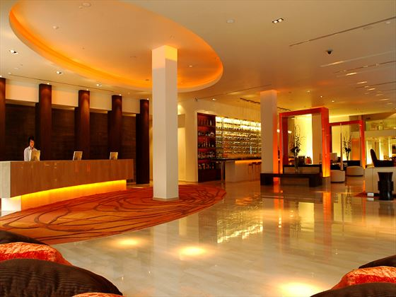 Lobby and reception at dusitD2