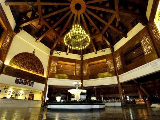 Lobby area at Berjaya Langkawi Resort