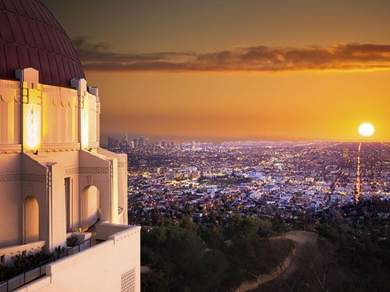 Los Angeles viewed from the Observatory