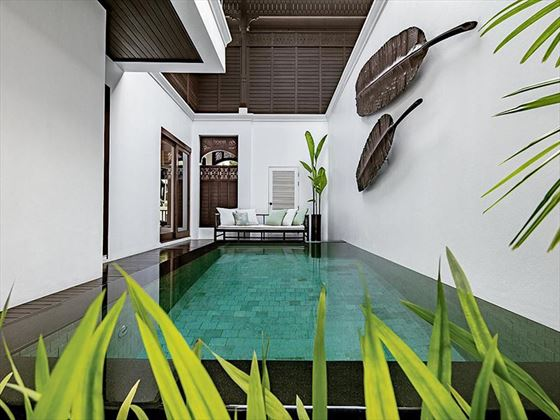 Louis Leonowens Pool Suite, Plunge Pool, 137 Pillars House