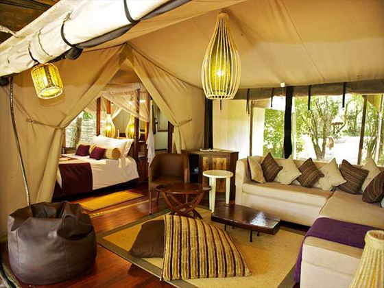 Lounge area at Mara Intrepids