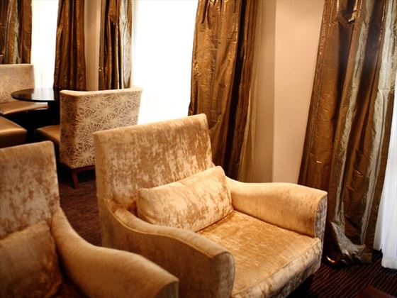 Lounge area at The Townhouse Hotel