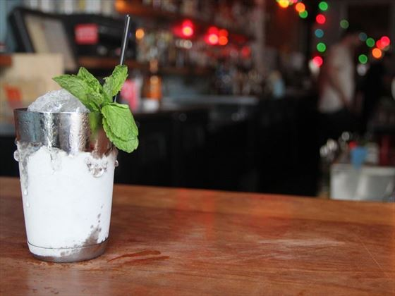 Frozen cocktails at Silver Dollar, Kentucky