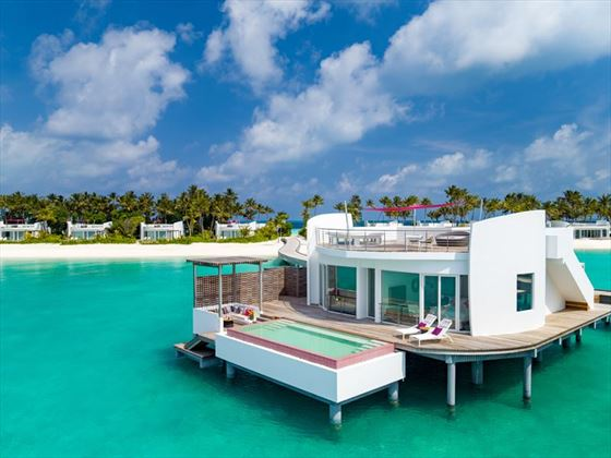 Water Villas at LUX* North Male Atoll