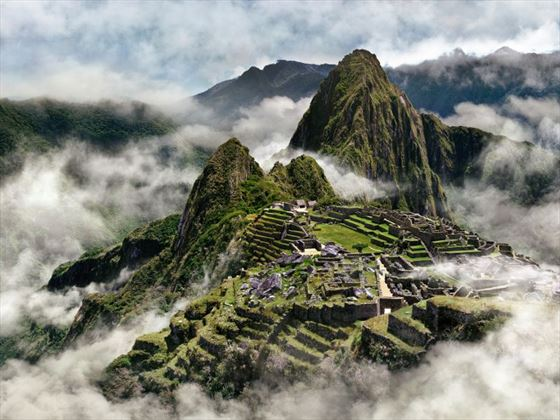 Machu Picchu stunning views