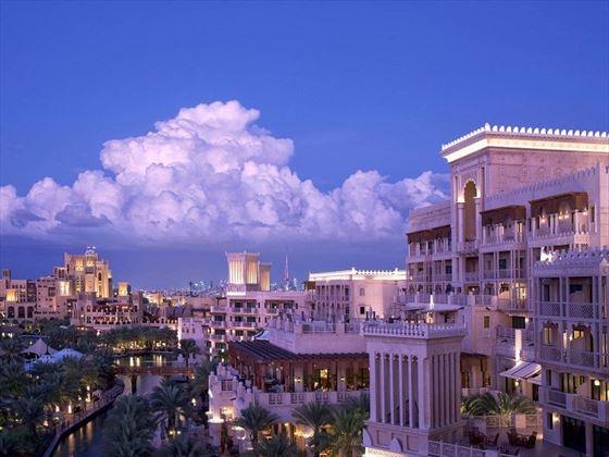 Jumeirah Al Qasr and Mina A'Salam exterior