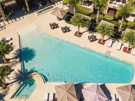 Magic Village Resort aerial view