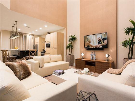 Magic Village Resort - living room