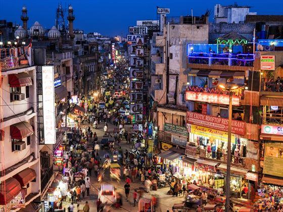 Main Bazar in Paharganj, Delhi