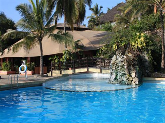 Main pool at Leopard Beach Resort & Spa