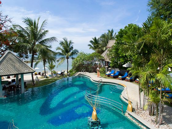 Main swimming pool at Centara Villas Samui