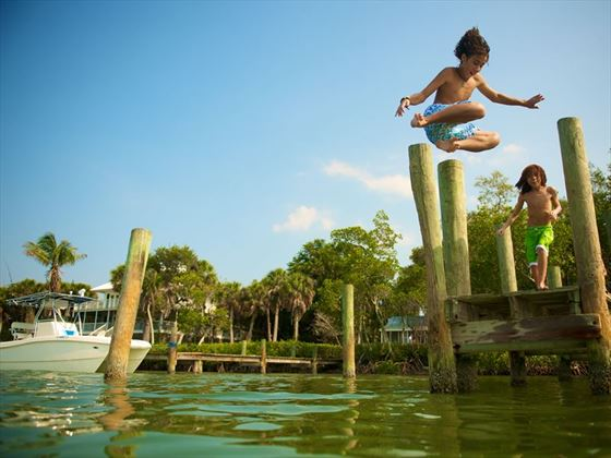 Making a splash in Fort Myers