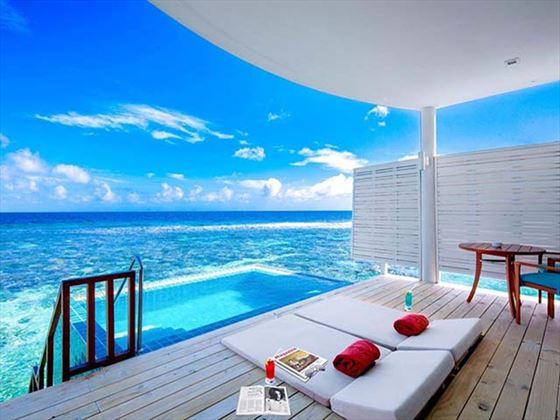 Centara Grand Island Sunset Ocean Pool Villa